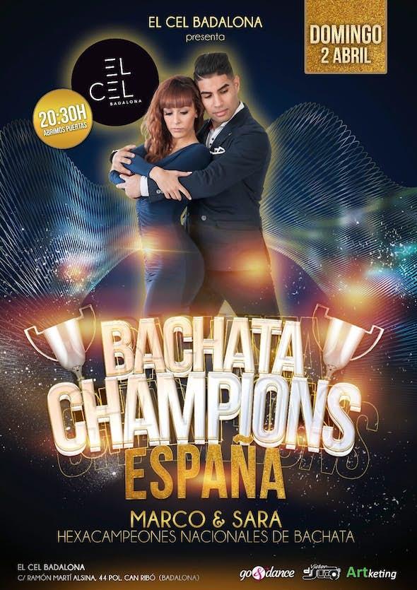 Intensivo 2h. bachata con Sara Panero y Marco Espejo + fiesta en el Cel Badalona