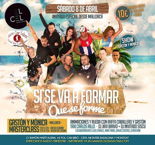 Saturday 8 at el Cel Badalona - Si se va a formar que se forme