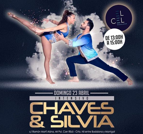 Chaves y Silvia bachata workshop at el Cel Badalona