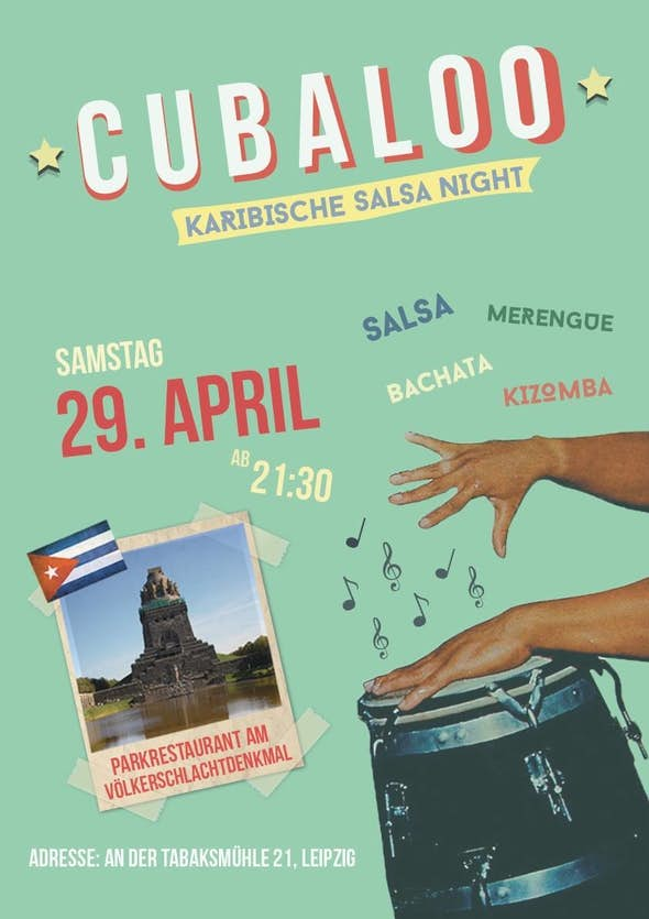 Cubaloo - Karibische Salsa Night