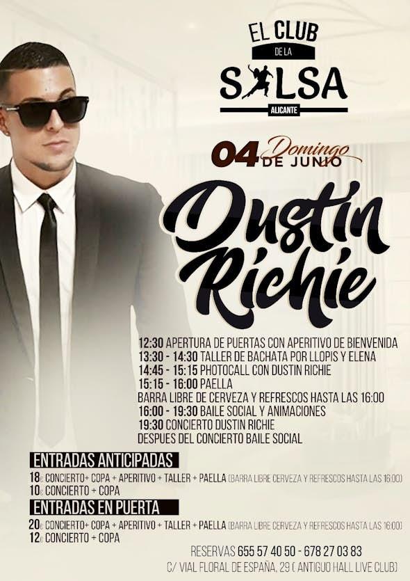 DOMINGO SALSERO + CONCIERTO DUSTIN RICHIE