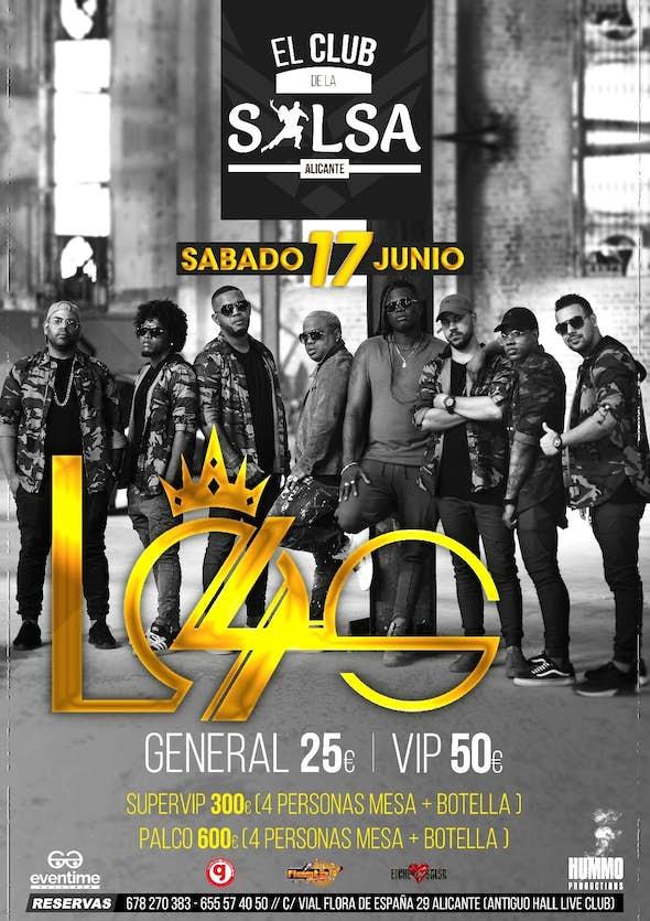 LOS 4 Concert in Alicante - 17th June 2017