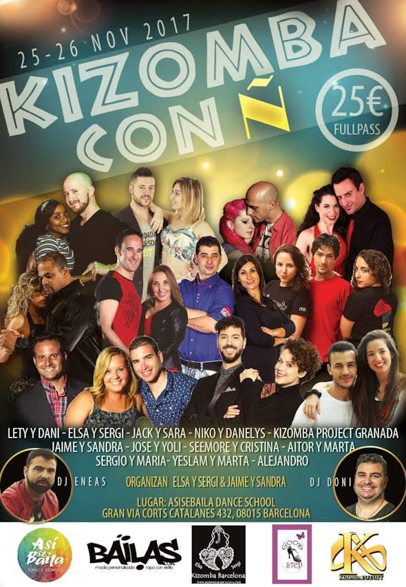 Kizomba con Ñ 2017 (1st Edition)