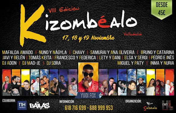 VIII Kizombéalo Valladolid 2017