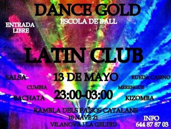 Latin Club  Dance Gold