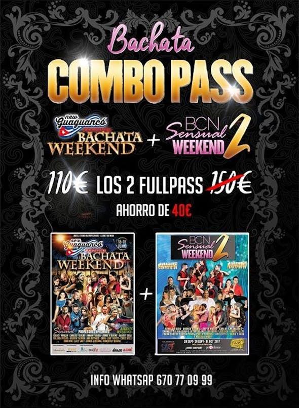 Combo Pass BCN Sensual Weekend