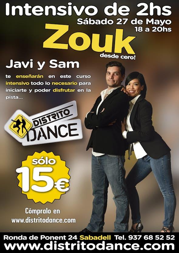 Intensivo de Zouk desde 0 en Distrito Dance
