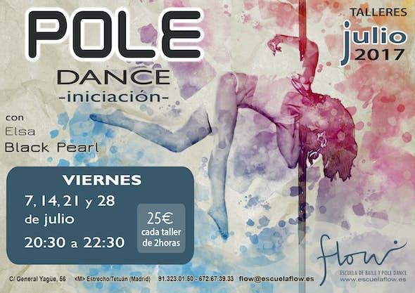 Talleres de Pole Dance (Iniciación)