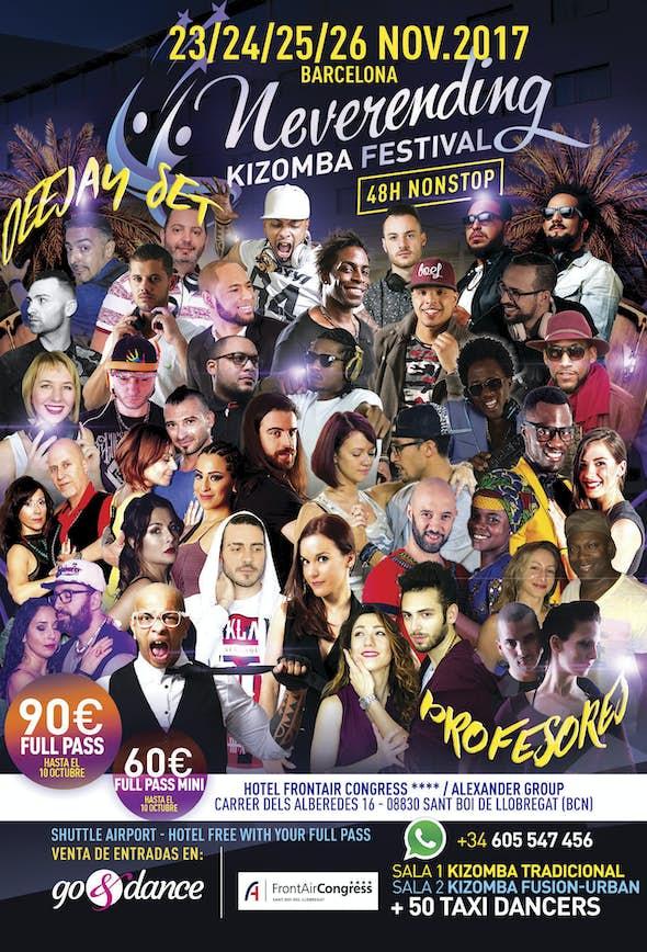 Neverending Kizomba Festival Barcelona 2017