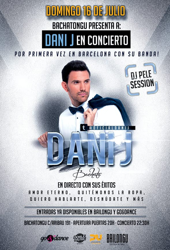 Concierto Dani J en Barcelona