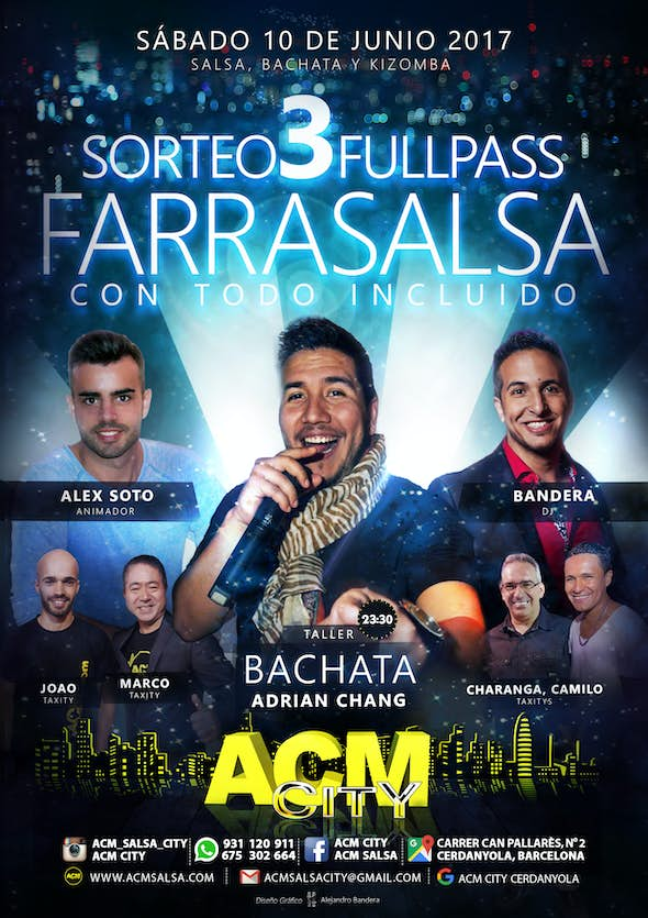 Sábado, 10 de junio en ACM CitY