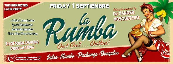 La Rumba - The Unexpected Latin Party