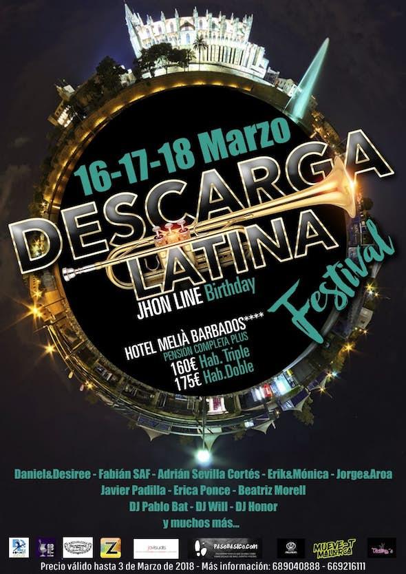 Descarga Latina Festival 2018 & BDay Jhon Line