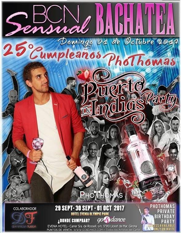 PhoThomas 25° Cumpleaños #PuertoDeIndiasParty