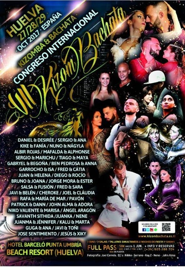 KizomBachata Spain Huelva 2017 (VII Edition)