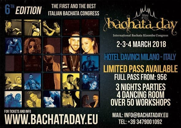Bachata Day Milan 2018 (6ª Edición)