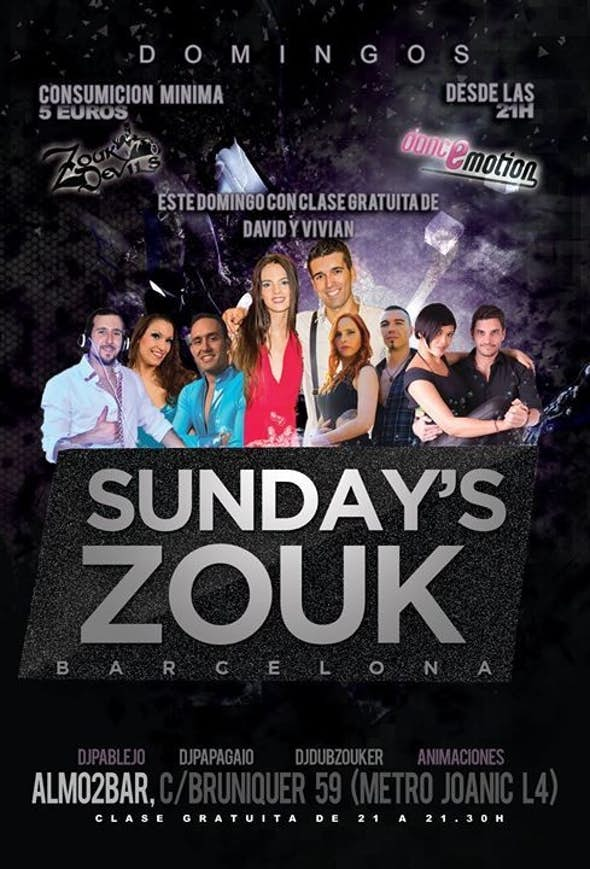 Brazilian Zouk Party plus Free Class