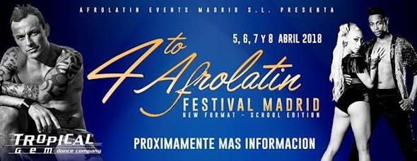 Afrolatin Festival Madrid 2018 (4ª Edición)