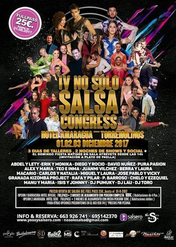 No Solo Salsa Congress 2017 (IV Edición)