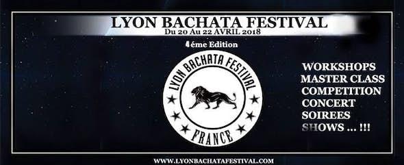 Lyon Bachata Festival 2018 Salsa and Kizomba Festival (4ª Edición)