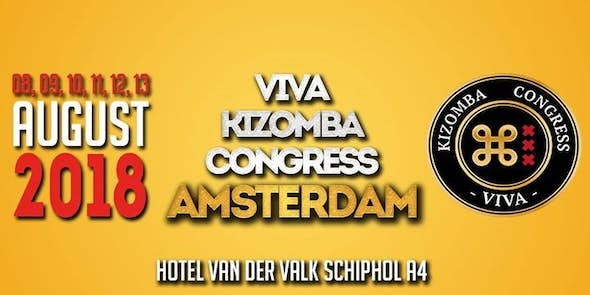 Viva kizomba Congress Amsterdam 2018 (2nd Edition)