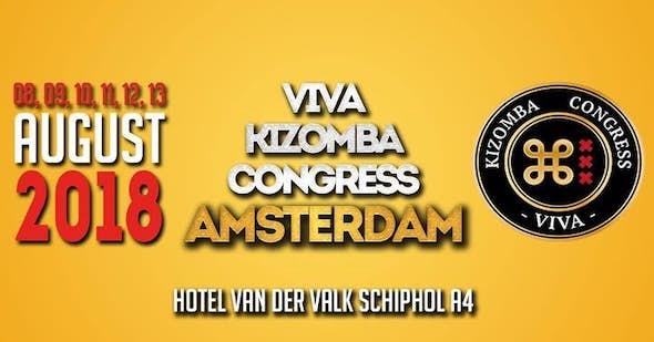 Viva kizomba Congress Amsterdam 2018 (2nd Edition)