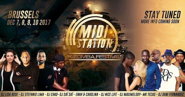 MIDI Station Kizomba Festival 2017 (2ª Edición)