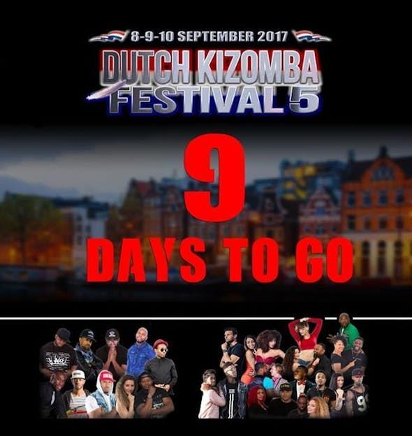 Dutch Kizomba Festival 2017 (5th Edition)