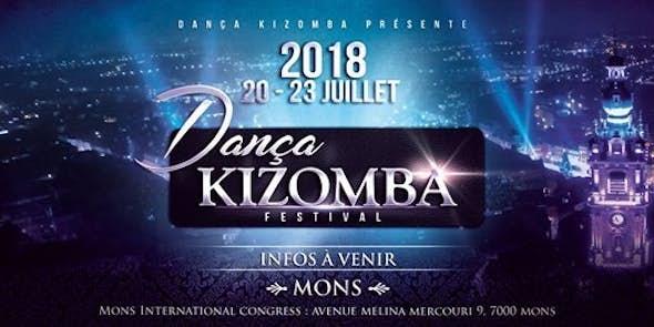 Dança Kizomba Festival Mons-Belgium 2018