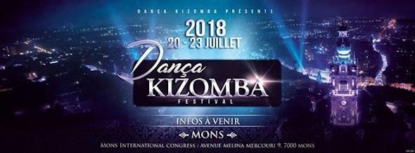 Dança Kizomba Festival Mons Belgium 2018 (2ª Edición)