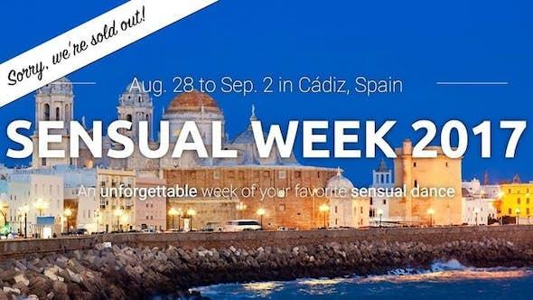Sensual Week 2017 (4ª Edición)