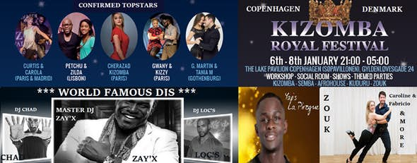 Copenhagen Kizomba Royal Festival 2017 (2nd Edition)