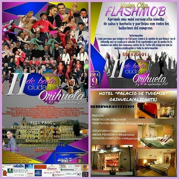 Congreso de Baile Ciudad de Orihuela 2017 (2ª Edición)