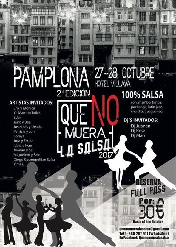 QuenomueralaSalsa 2017 (2ª Edición)