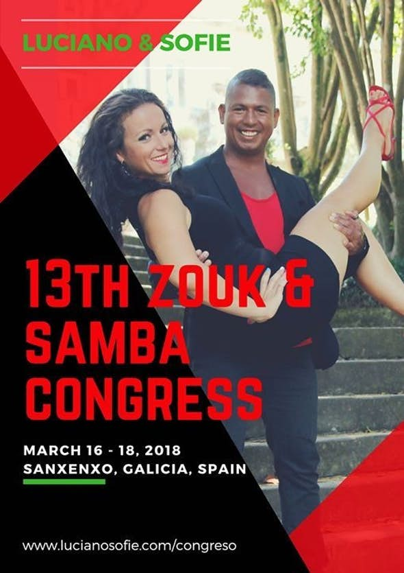 Congreso de Zouk y Samba en Galicia 2018 (XIII Edición)