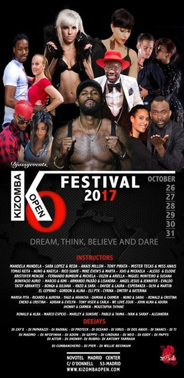 International Kizomba Open Festival 2017 (6th Edition)