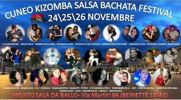 Cuneo Kizomba Salsa Bachata Festival 2017