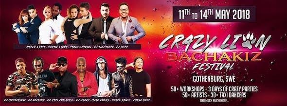 Crazy Lion BachaKiz Festival 2018 (2ª Edición)