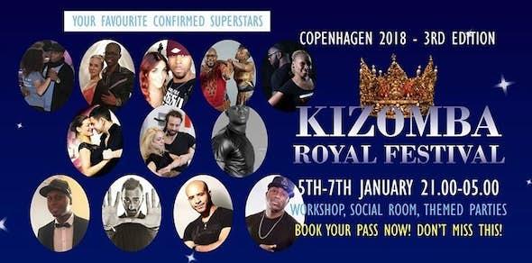 Copenhagen Kizomba Royal Festival 2018 (3rd Edición)