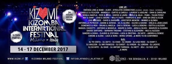 KIZMI2017 Kizomba International Festival Milano 2017