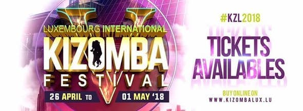 Luxembourg International Kizomba Festival 2018 (5ª Edición)