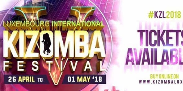 Luxembourg International Kizomba Festival 2018 (5th Edition)