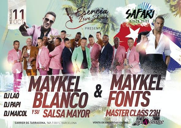 Maykel Blanco y su Salsa Mayor & Maykel Fonts - Barcelona