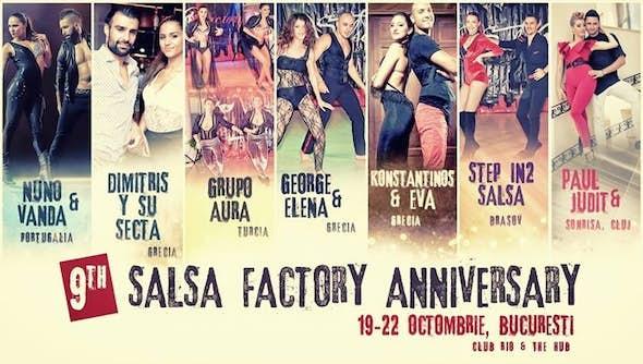 Salsa Factory Anniversary 2017 (9ª Edición)