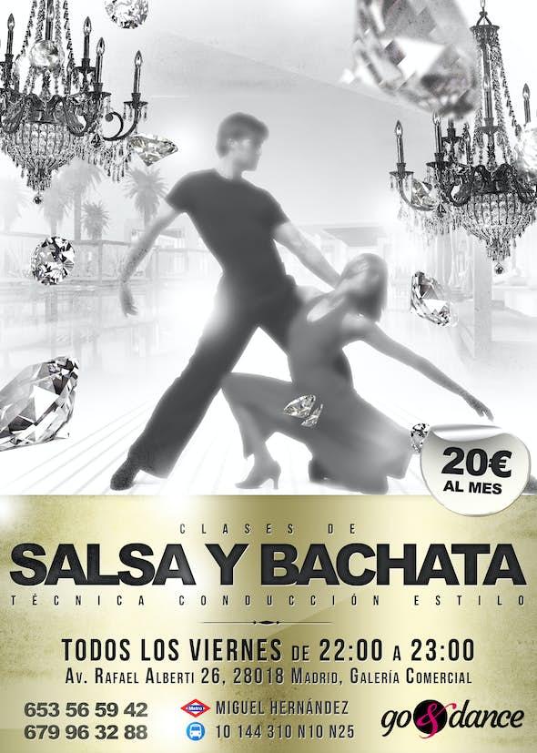Clases de Salsa y Bachata en Vallecas