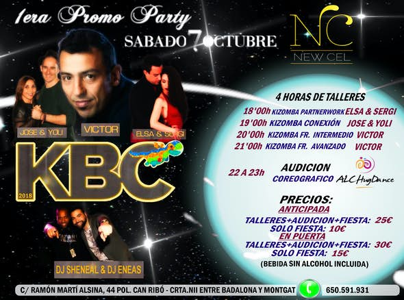 KBC 2018 Party 1 - Kizomba Barcelona Congress