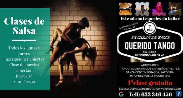 "Academia de baile ""Dia de puertas abiertas """