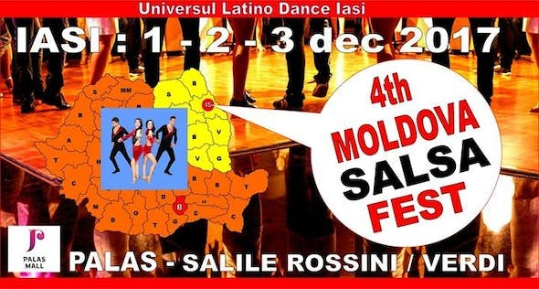 Moldova Salsa Fest Lasi 2017 (4th Edition)