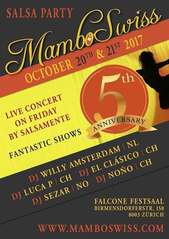 MamboSwiss 2017 - 5th Anniversary