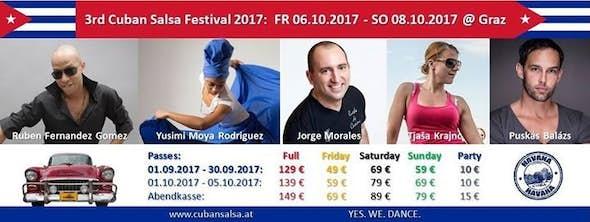 Austrian Cuban Salsa Festival 2017 (3rd Edition)